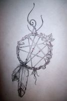 Initial Dreamcatcher... by TheRaven1988