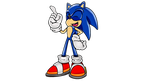 Laughing Modern Sonic better version by funkyjeremi