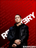 Eminem Recovery Poster by CREEPnCRAWL
