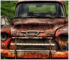Rusted Chevy 2 by barefootphotos