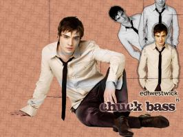 Chuck Bass Wallpaper by dreaminit