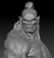 Orc Wip by chrisgabrish