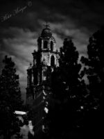 Cemetery Bells B W by MisticMorgue