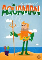 Aquaman Vector by funky23