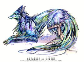 Creature of Spring by Schattenwoelfin-sama