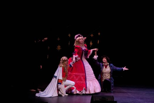 Rose of Versailles on Stage by Elrowiel