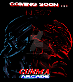 Gunma ARCADE- poster II- next mission by Absolhunter251