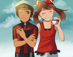 ORAS May and Brendan by PastelWing