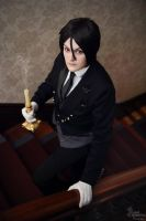 The Black Butler by BedlamSandNin