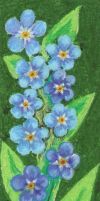 BookMark - ForgetMeNot by Nortstar