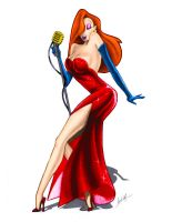 Jessica Rabbit Colour by turbocores