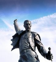 Freddie Mercury Monument by awe-inspired