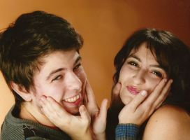 cuuute Couple photosession by Angiepureheart