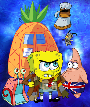 Doctor SpongeWho SquarePants by ErinPtah