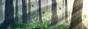 Lightintheforest1400 by curious3d