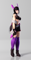 Juri 3DS Render 7 by x2gon
