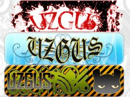 uzGus banners collection by christ139