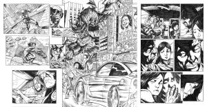 Astonishing X-Men pages by dichiara