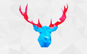 POLYGON DEER by polygn