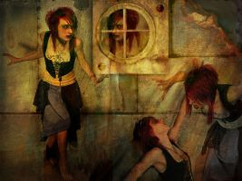 Me against myself by musetta30