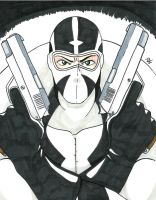 Fantomex Copic by Tedbob