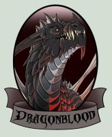 Dragonblood Logo by mythori