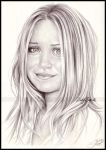 Mary Kate Olsen by Zindy