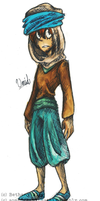 Professor Layton and the Azran Legacy: Umid by somedreamingstatE