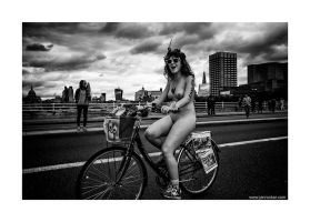 World Naked Bike Ride 31 by lightdrafter