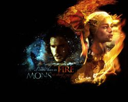 Fire and Snow by ireneglory