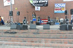 Puerto Rican/Latin Festival, Power Voice by Miss-Tbones