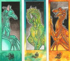 Bookmarks 1 by ElorenLeianor
