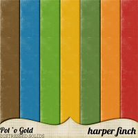 Pot O' Gold Solids by harperfinch