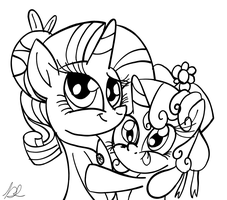 Sisterly Hug by Daniel-SG