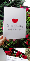 On the father's day I want to tell you... by Szczurzyslawa