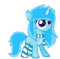 winter pony auction - (CLOSED) by N0RWHY
