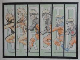 Naruto - Running through life - Colored by Imagine-wonderfall