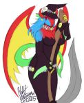 FEMALE GIGA-XIS AS A WITCH FOR HALLOWEEN COLOR by  by DEVIOUS-DISCORD-RP