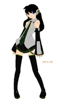 Vocaloid Kagome by WhisperingKage