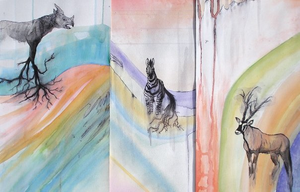 Animal Watercolors by CliffeArts