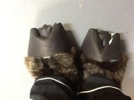 Finished Reindeer hooves-WIP by Aura-Aquia