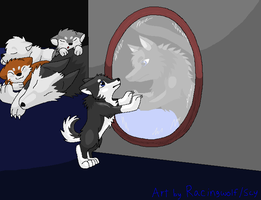 75. Mirror by racingwolf