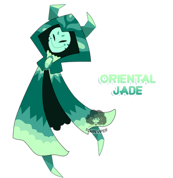 (CLOSED) Corrupted Gem Adoptable #3 Jade by FlareViper