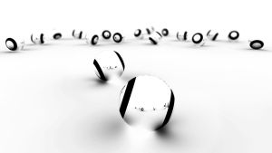 WhiteBlack Balls by Creative-Activity