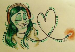 Green Love by BenjiLion09