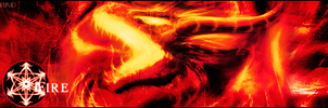 Elemental Dragons Sign : Fire by HollowAvenger