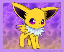Jolteon Chibi by RebeccaAlexa