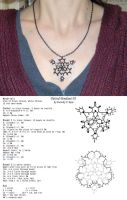 Tatted Pendant 01 by Dorothy-T-Rose