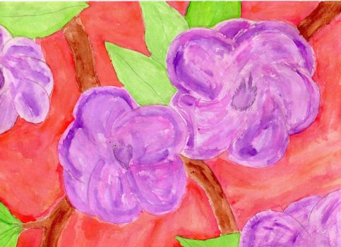 Mother's Day Water Color by LadyTaurus95