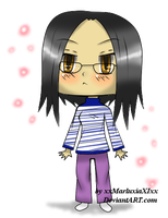 Me as a chibi XD by SparklingHoney-Q